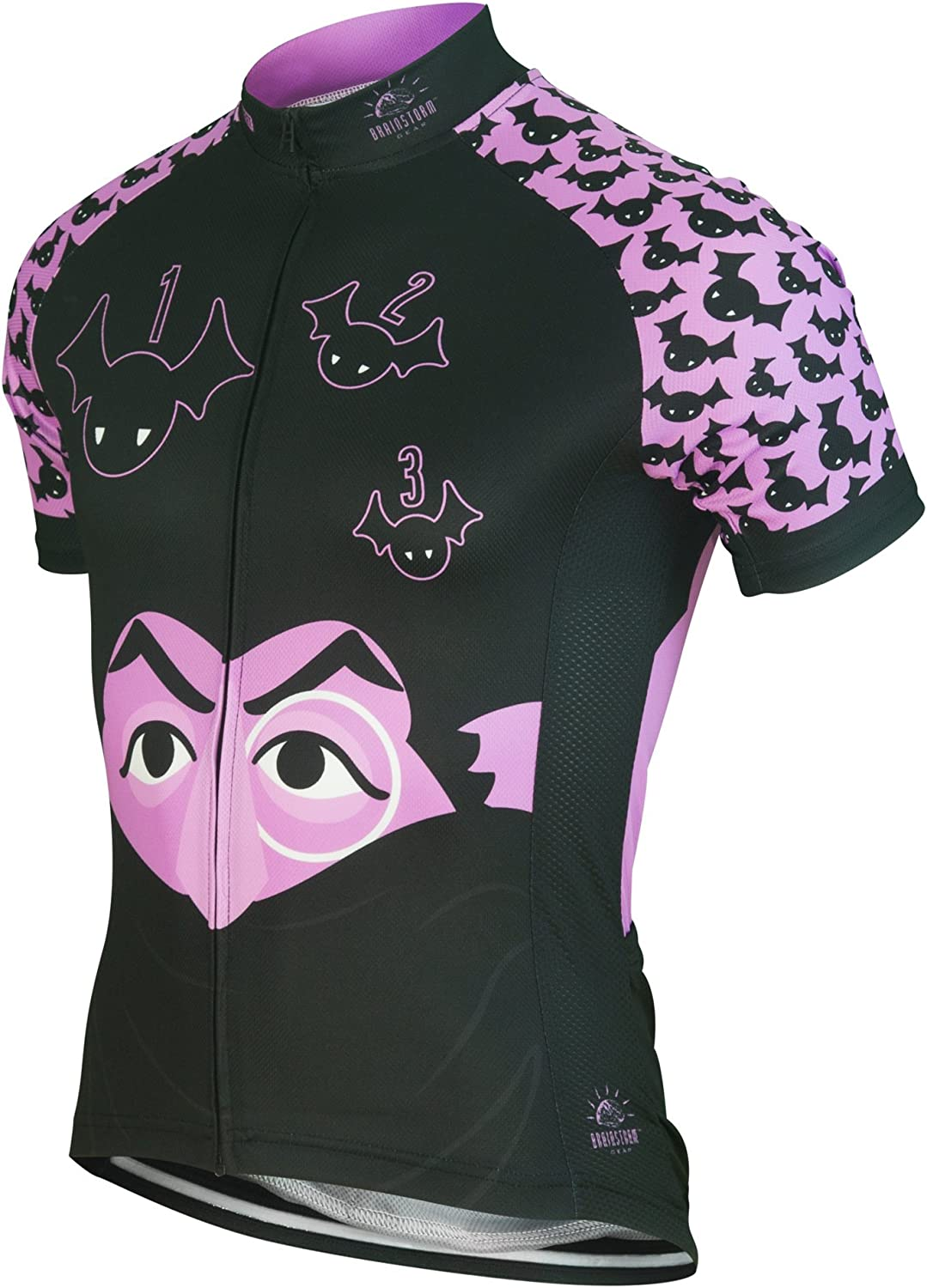 Brainstorm Gear Women's The Count Cycling Jersey  SSCOW