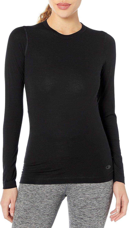 Icebreaker Merino Tampa OFFicial store Mall Women's Sprite Sleeve Wool T-Shirt Long