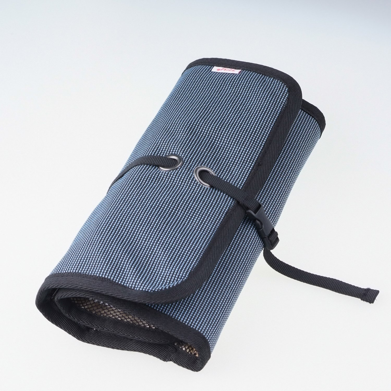 WANPOOLデータケーブル収納バッグデジタルアクセサリーパックモバイルチャージャーモバイルハードディスクUディスク充電バオカードリーダー整理バッグアウトドア旅行デジタルパッケージ仕上げパッケージ電子製品収納袋多機能収納袋を運ぶのは簡単(ブルー)