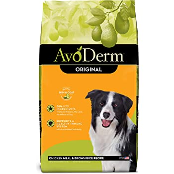 AvoDerm Natural Dry & Wet Dog Food, For Skin & Coat