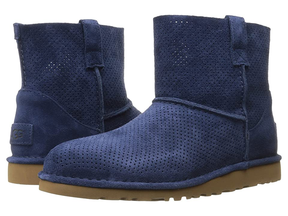 UGG Classic Unlined Mini Perf (Marino) Women