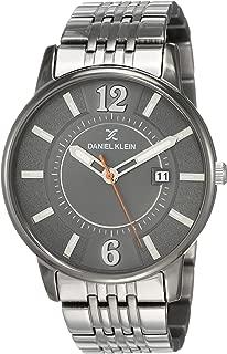 Daniel Klein Analog Grey Dial Men's Watch-DK12119-6