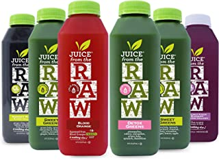 3-Day Collagen Infused Juice Cleanse by Juice From the RAW - Improve Health of your Hair, Skin, and Nails / Detoxify Your ...