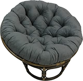 Blazing Needles Solid Microsuede Papasan Chair Cushion, 52