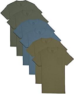 Fruit Of The Loom Men's Pocket T-Shirt Multipack Underwear