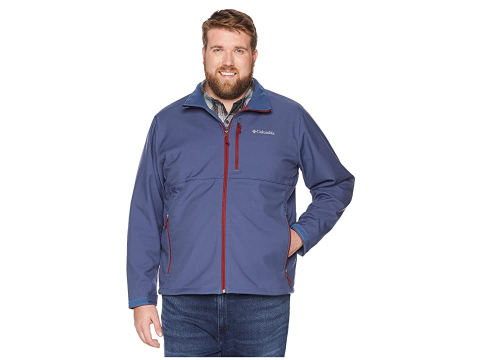 Columbia Big Tall Ascendertm Softshell Jacket (Dark Mountain) Men