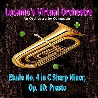 Etude No. 4 in C Sharp Minor, Op. 10: Presto