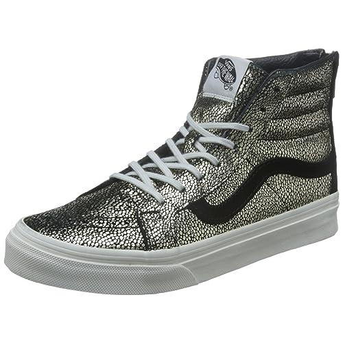b0b5261332 Vans Womens Chunky Glitter SK8-Hi Slim Zip Sneaker