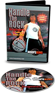 HoopsKing Handle The Rock Beginner Workouts - DVD - Follow Right Along With The Video - Learn From A Pro Trainer - Real Time Workouts - Pro Trainer Jason Otter