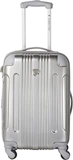 "Travelers Club 20"" Polaris Metallic Accented Hardside Expandable Luggage"