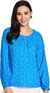 Amazon Brand - Symbol Women's Starred Regular Fit Top