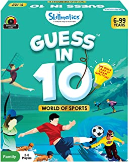 Skillmatics Educational Game World Of Sports GUESS IN 10 (Ages 6 99), SKILL36GWS