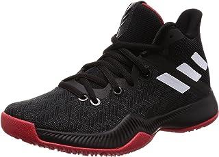 adidas Dual Threat 2017 J, Chaussures de Basketball Mixte