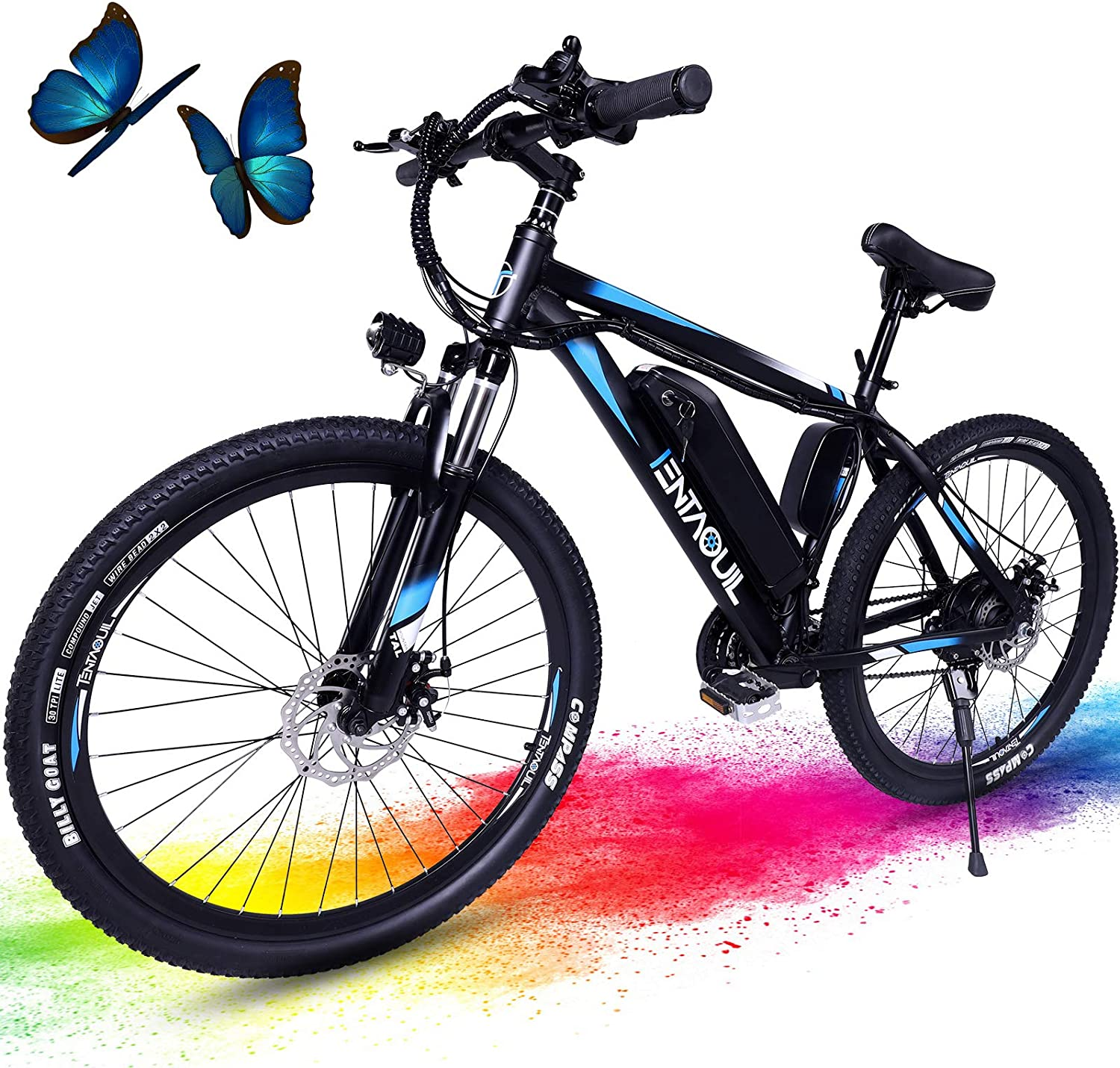 3Y Manufacturer regenerated product Electric Bike 26'' Bicycle Max 45% OFF Ebike w 20MPH for Adults