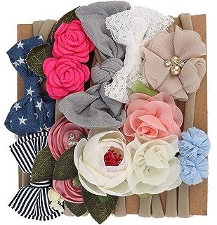 Baby haarband bloem voor haaraccessoires voor babymeisjes(1)