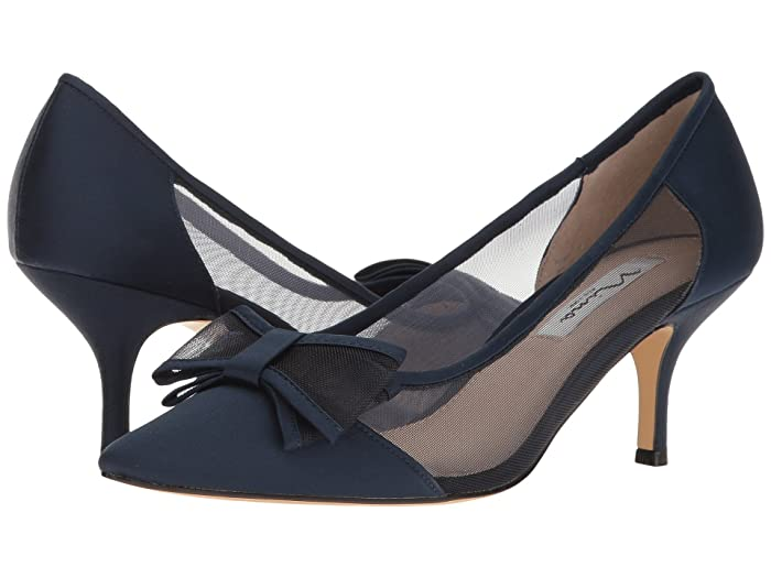 Nina  Bianca (New Navy) Womens 1-2 inch heel Shoes