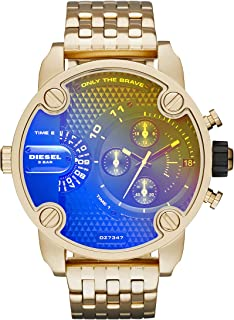 Diesel Men's DZ7347 Little Daddy Analog Display Analog Quartz Gold Watch