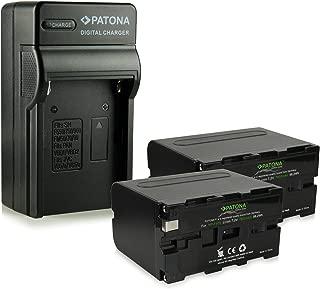 AC-L10B AC-L15B AC-L100 Cargador para C/ÁMARA Compatible con Sony DCR-VX2100 /& HDR-FX1 etc sustituye AC-L10 AC-L15 AC-L10A AC-L15A