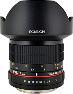 Rokinon FE14M-S 14mm F2.8 Ultra Wide Lens for Sony Alpha (Black)