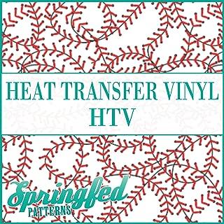 Baseball CRAZY LACES Pattern HTV Heat Transfer Vinyl 12