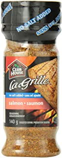 Club House La Grille, Grilling Made Easy, Salmon Seasoning, Salt-Free 140g/4.9oz