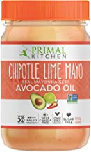 Primal Kitchen, Chipotle Lime Mayo, 12 Fl Oz (Pack of 1)
