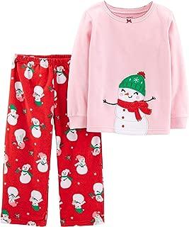 Girls 2 Piece Fleece Pajamas