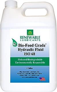 Renewable Lubricants Bio-Food Grade ISO 68 Hydraulic Fluid, 1 Gallon Jug
