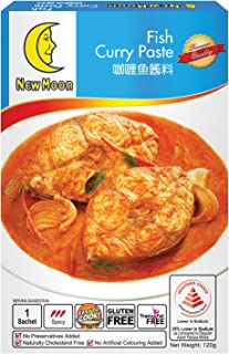 NewMoon Fish Curry Paste, 120g