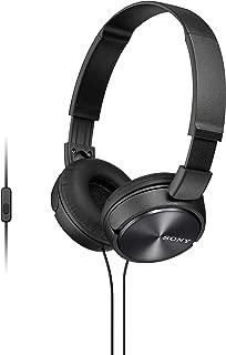 Sony MDR-ZX310 Fone de Ouvido com Microfone, Preto