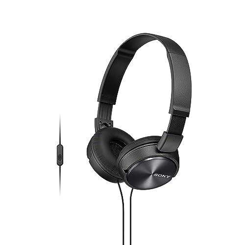 Sony MDR-ZX310APB - Auriculares de diadema cerrados (con micrófono, control remoto integrado