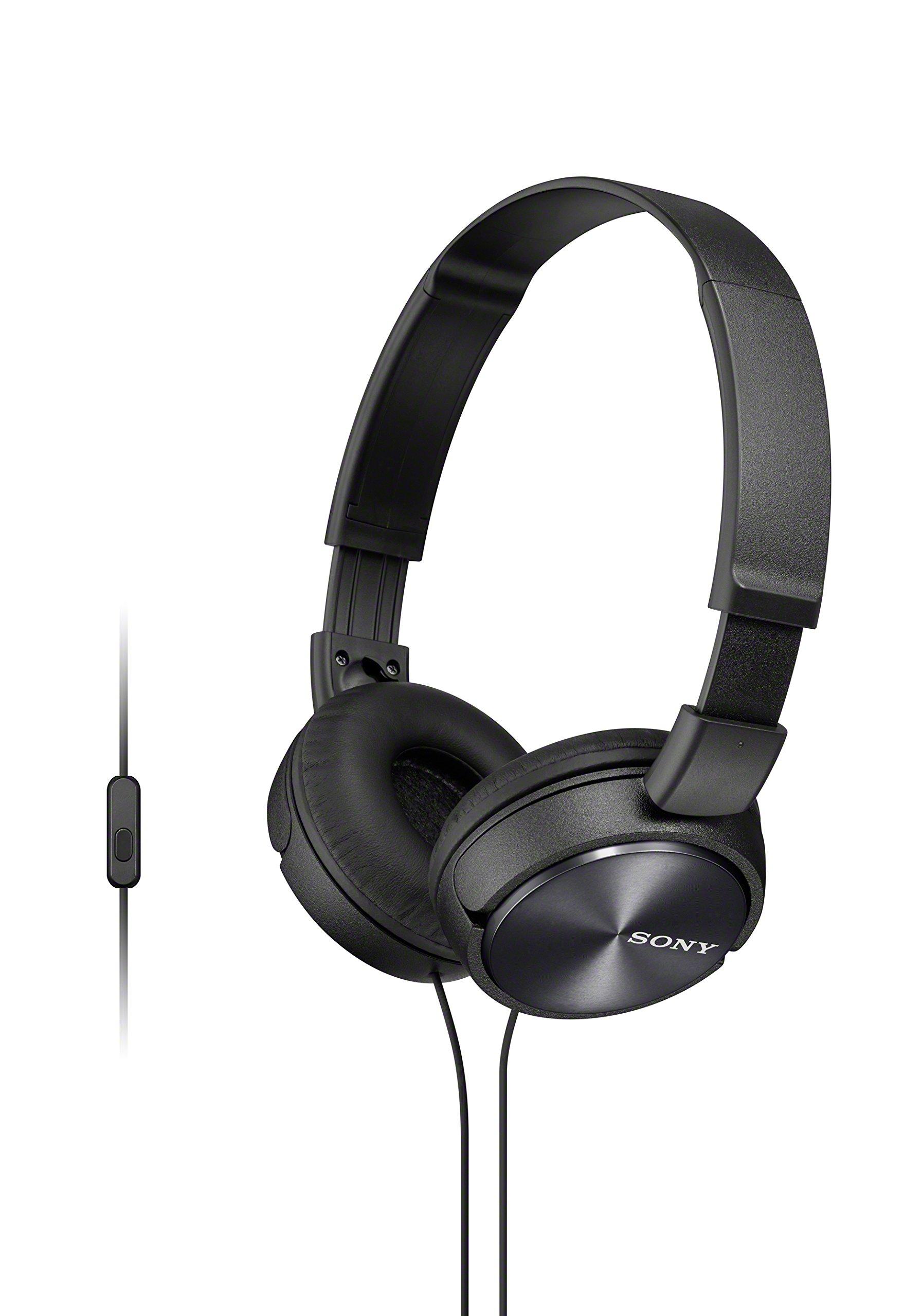 Sony Foldable Headphones Smartphone Control