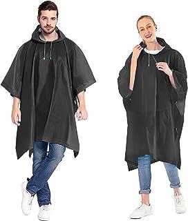 بانشو مطر للنساء والرجال من أنفي (عبوة من قطعتين) مع غطاء رأس برباط للرأس للبالغين