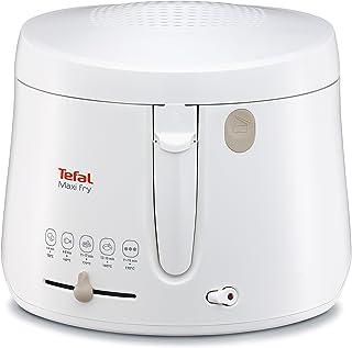Tefal FF1000 Maxi Fry fritös (1 900 watt, kapacitet 1,2 kg, fritös med olja, värmeisolerad, regelbunden temperatur, automa...