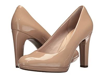 Rockport Seven To 7 Ally Plain Pump (Dark Taupe) Women