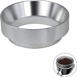 MIBRU Dosing Ring with Magnetic For Barista Espresso Dosing Funnel Powder Ring Powder Dispenser Doser Compatible with Port...