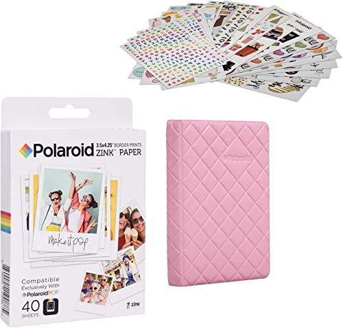 discount Polaroid wholesale 3.5 x 4.25 discount inch Premium Zink Paper Sticker Kit online sale
