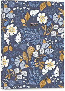 """High Note 2022 Weekly & Monthly Softcover Planner 17-Month: August 2021 to December 2022, 5.75"""" x 7.75"""" - Garden Bee"""