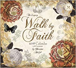 2019 Mini-Wall Calendar,  Walk By Faith