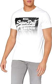 Superdry Men's Vl Halftone Emboss Tee Casual Shirt
