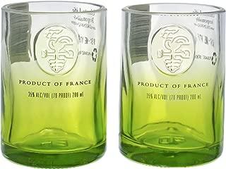 Ciroc Apple Vodka Reclaimed Bottles Glassware Barware Drinkware Shot Glass Gift Set