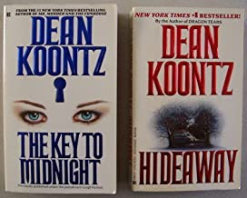 Lot of 2 Dean Koontz paperbacks: The Key to Midnight AND Hideaway
