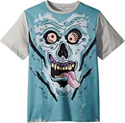Stella McCartney Kids - Arrow Boys Short Sleeve Monster Graphic T-Shirt (Toddler/Little Kids/Big Kids)