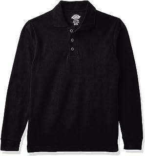 Dickies Boy's Dickies Boy's Long Sleeve Pique Polo Polo Shirt