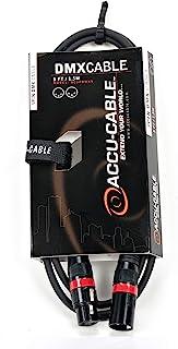 Accu Cable AC3PDMX5 - Cable DMX, 1.5 m, color negro