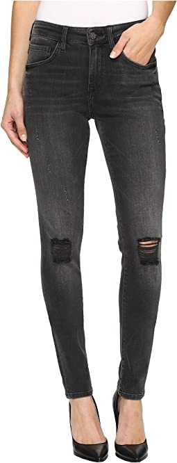 Alissa High-Rise Skinny in Mid Grey Retro