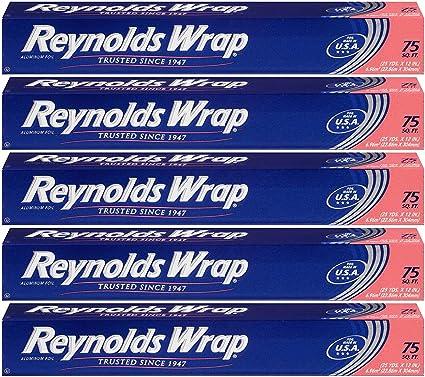Reynolds Wrap Standard Aluminum Foil 75 Square Feet