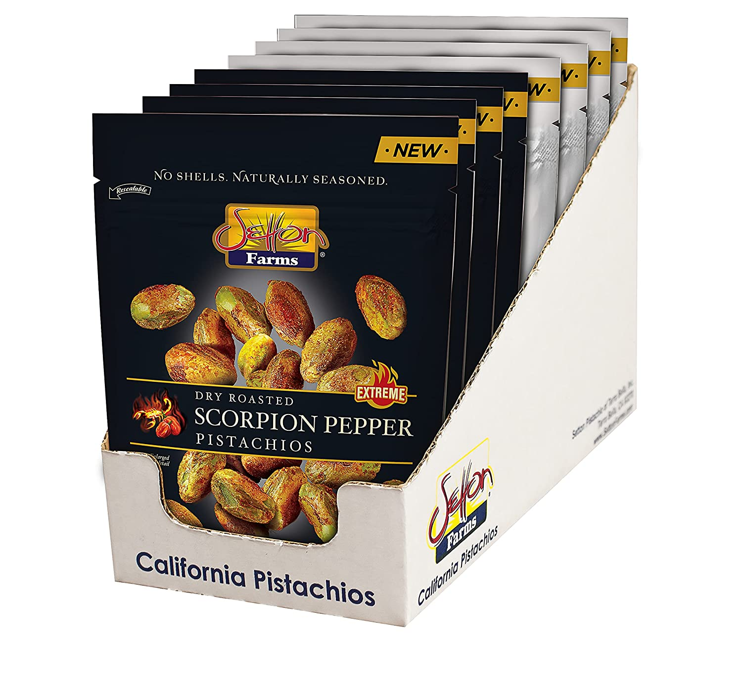 Setton Farms Pistachio Variety 8 Quality inspection Pack Pepper and Scorpion of service Raw
