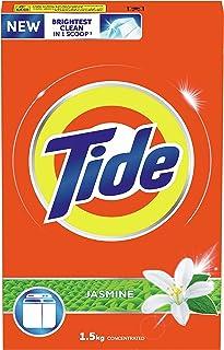 Tide Laundry Powder Detergent Jasmine Scent 1.5 kg, Pack of 1