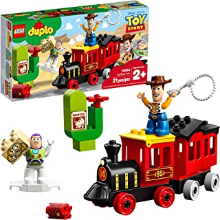 قطار اسباب بازی LEGO DUPLO Disney Pixar Train 10894 Blocks Building (21 قطعه) ، جدید 2019